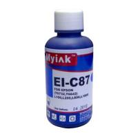 Чернила для EPSON (T6732) L100/L200/ L655/ L800/ L1800 (100мл, cyan) EI-C87 Gloria™ MyInk