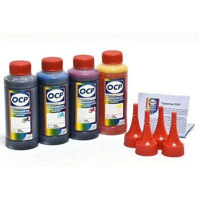 Kомплект чернила OCP для картриджей CANON PG-440, CL-441 (BKP 44, C/M/Y 710) 100 gr x 4