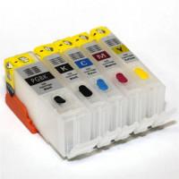 Перезаправляемые картриджи для CANON iP4200 4500 (PGI 5Bk 8BK C/M/Y) x5